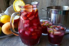 Receita Sangria tropical