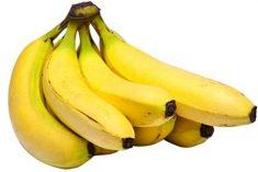 Banana é um super remédio natural