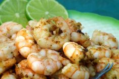Delícia de camarão na manteiga e alho, é tão saboroso