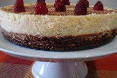 Cheesecake com Base de Chocolate