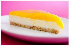 Cheesecake de Coco e Limão