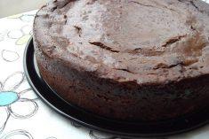 Cheesecake de chocolate e cerveja preta