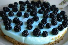 Cheesecake de frutos do bosque