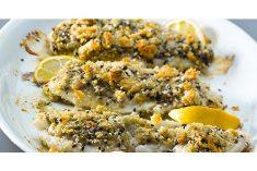 Filetes de Pescada Assados no Forno com Batatinhas Salteadas