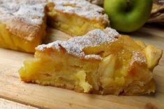 Tarte rápida de maçã e amêndoa