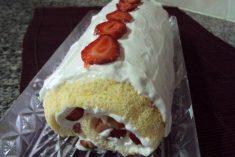 Torta de Morangos com Chantilly