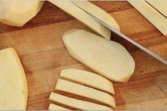 Batatas fritas crocantes e sem nenhuma gota de óleo! É muito mais saudável e tão fácil de preparar!