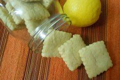Bolachinhas de limão e canela
