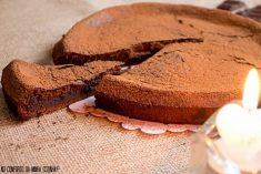 Bolo de Chocolate e Café sem Farinha