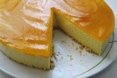 Cheesecake de Cenoura