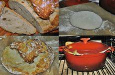 A massa é muito simples pão de água