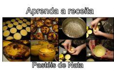 Aprenda a receita de Pastéis de Nata (Português Inglês)