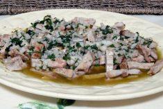 Esta receita é uma maravilha pica-pau de porco