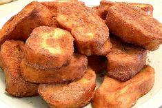 Receita tradicional das deliciosas rabanadas ou fatias douradas! Guarde já a receita!