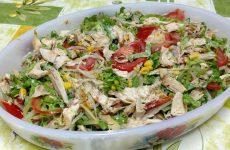 Salada de Frango Rápida