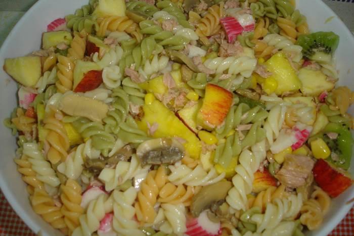 Salada multi-color