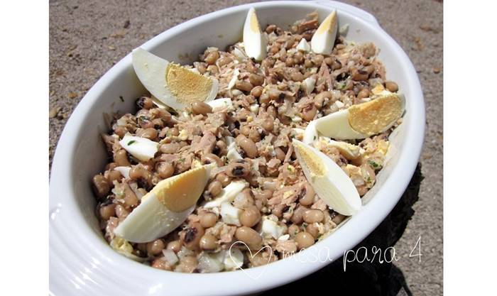 Salada de Feijao Frade