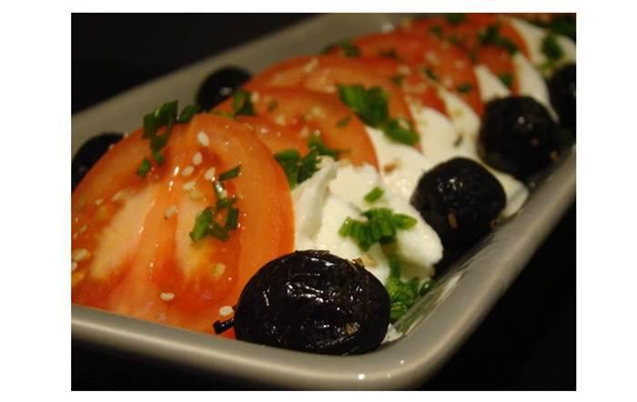 Salada de Tomate e Mozzarella