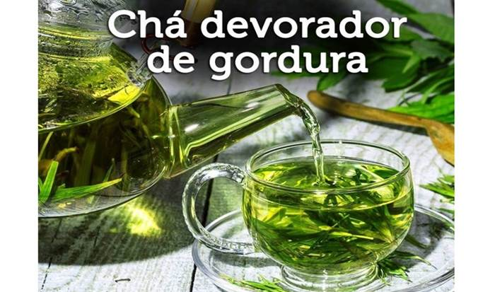 Chá Devorador de Gordura