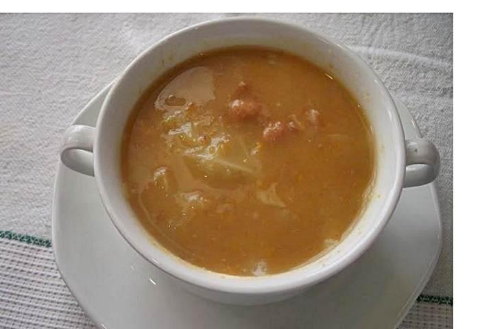Sopa de Feijão e Legumes