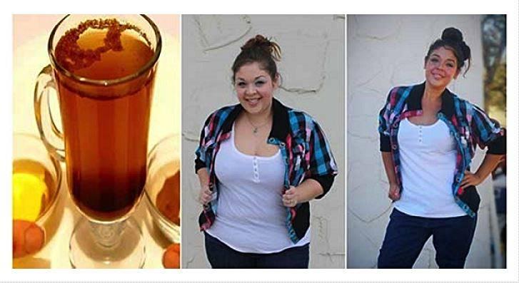 Ela perdeu 7 quilos em 10 dias com esta bebida caseira muito simples de fazer
