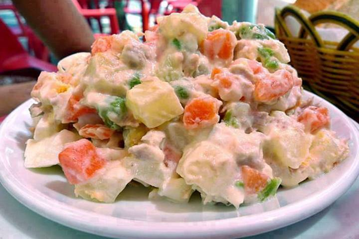 A minha maneira de fazer salada russa
