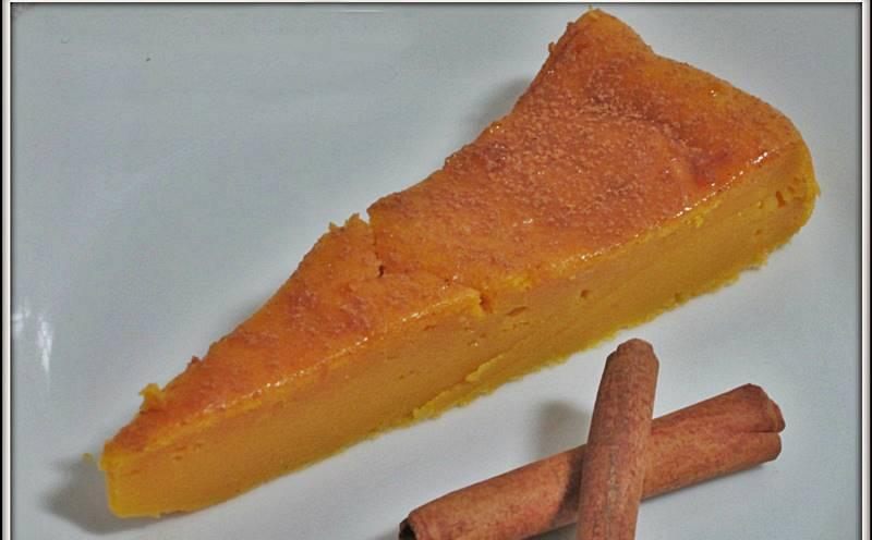 Queijada de Cenoura com Canela