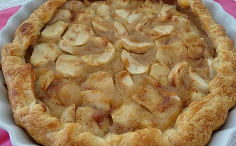 Tarte de maçã rápida