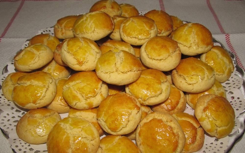 Biscoitos de Azeite com um cházinho ou um café são uma maravilha
